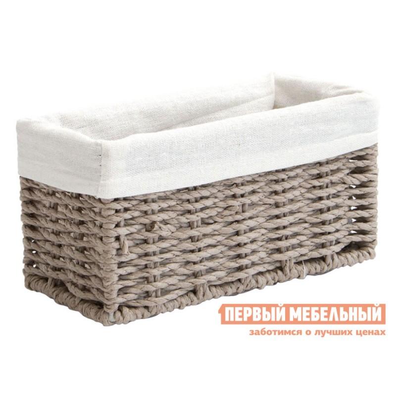 Корзина для хранения  Пепер Ивовая лоза / Пепер, ткань, S