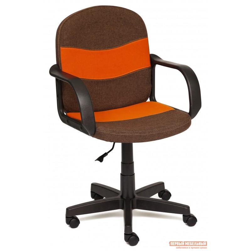 Офисное кресло  BAGGI Коричневый / оранжевый, ЗМ7 / С23