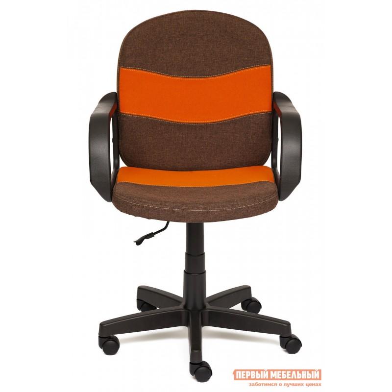 Офисное кресло  BAGGI Коричневый / оранжевый, ЗМ7 / С23 (фото 2)
