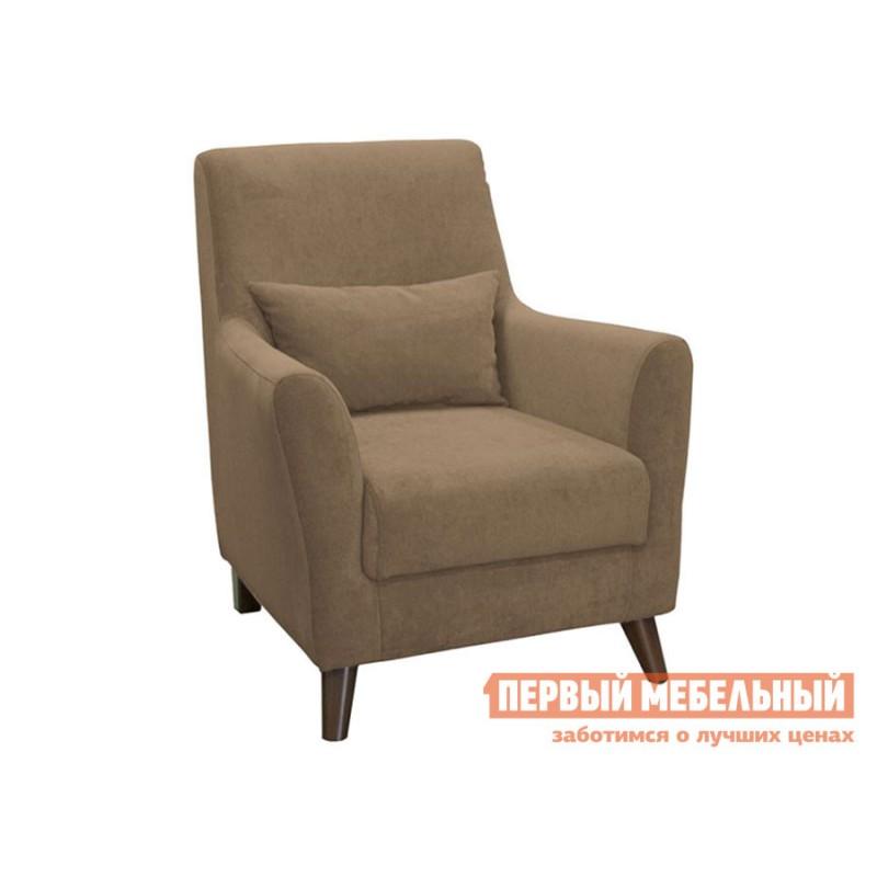 Кресло  Кресло Либерти Светло-коричневый, велюр