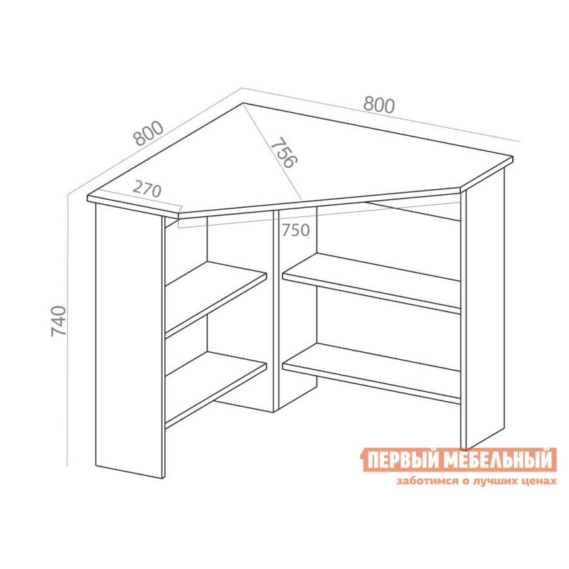 Письменный стол  СТМ-1 Белый (фото 6)