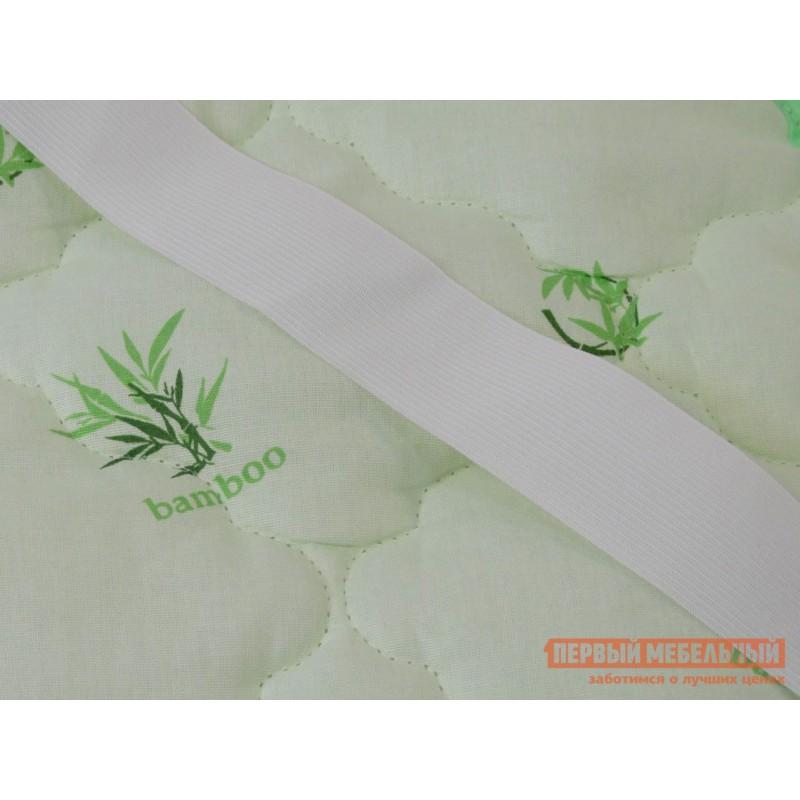 Чехол для матраса  Наматрасник бамбук хлопок Светло-зеленый, 900 Х 2000 мм (фото 2)