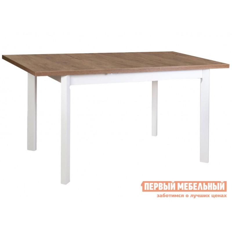 Кухонный стол  Стол MAX 5 P, 120(150)*80*78 Белый / Дуб Лефкас (фото 2)