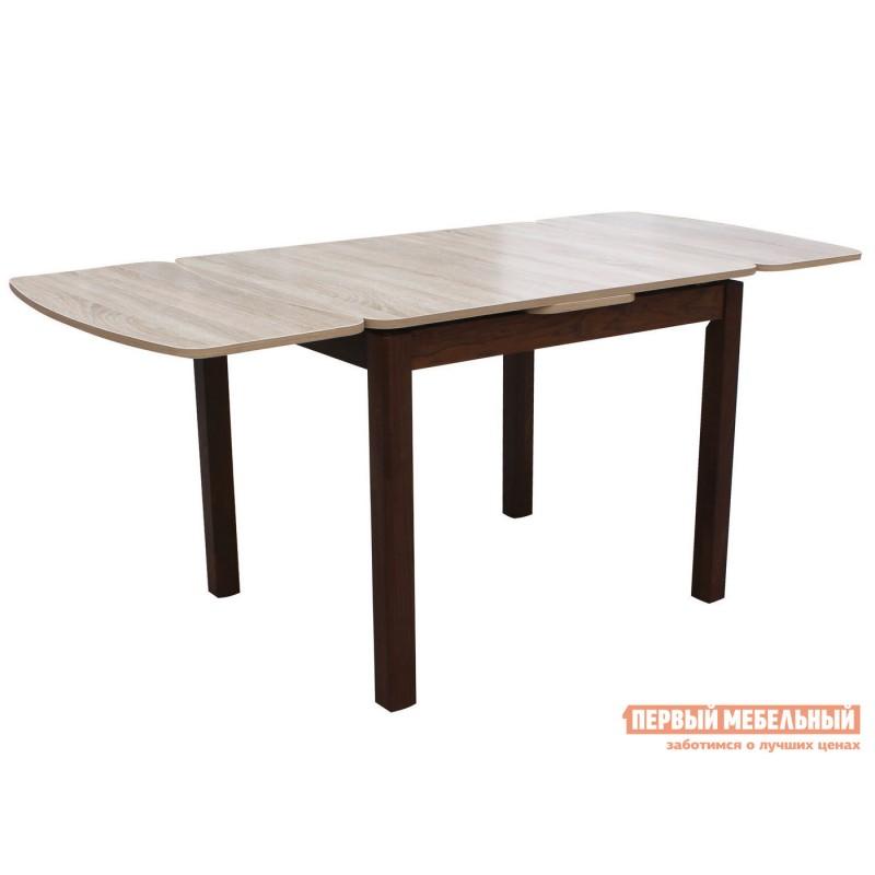 Кухонный стол  Орлеан 1,7 ЛДСП Орех темный / Дуб Сонома (фото 2)