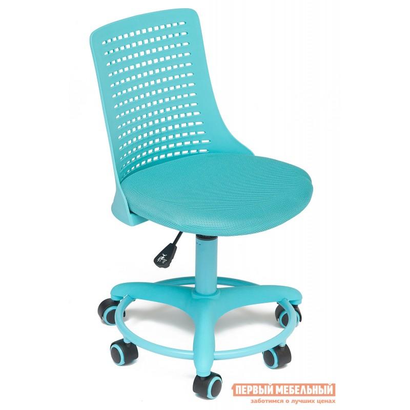 Детское компьютерное кресло  Kiddy Ткань (сетка), пластик, бирюзовый