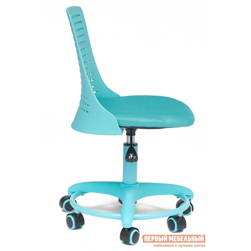Детское компьютерное кресло  Kiddy Ткань (сетка), пластик, бирюзовый (фото 2)