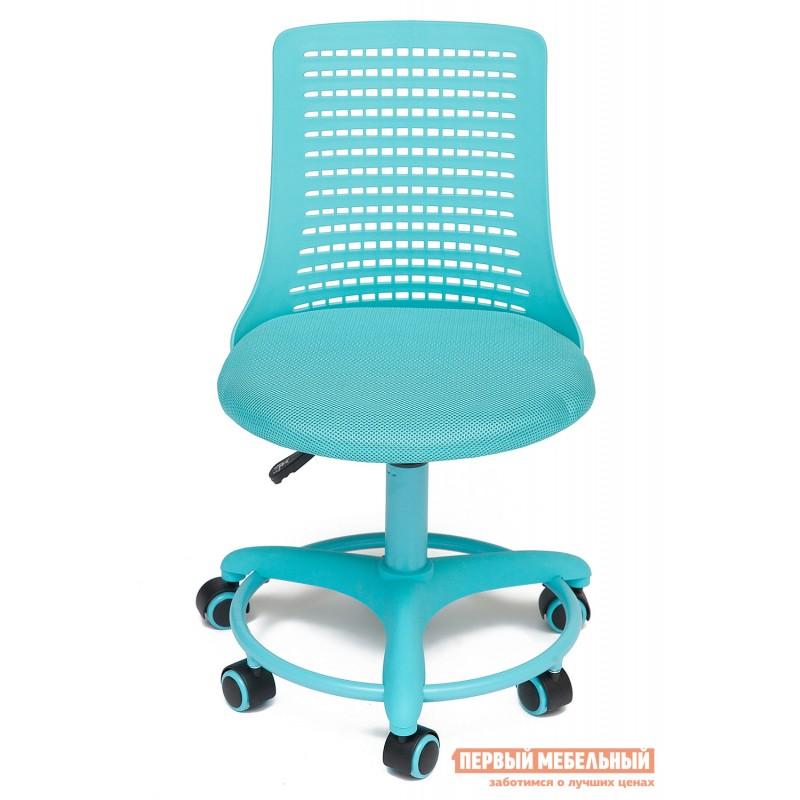 Детское компьютерное кресло  Kiddy Ткань (сетка), пластик, бирюзовый (фото 3)