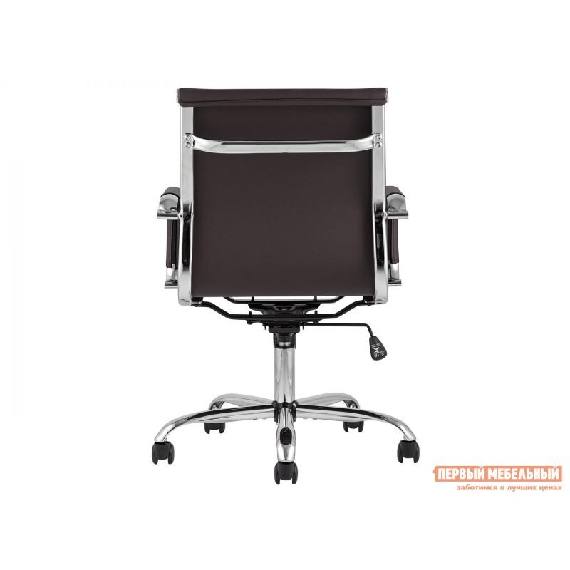 Офисное кресло  КреслоофисноеTopChairsCityS Коричневый, экокожа (фото 3)