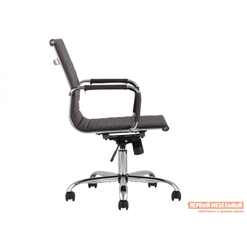 Офисное кресло  КреслоофисноеTopChairsCityS Коричневый, экокожа (фото 4)
