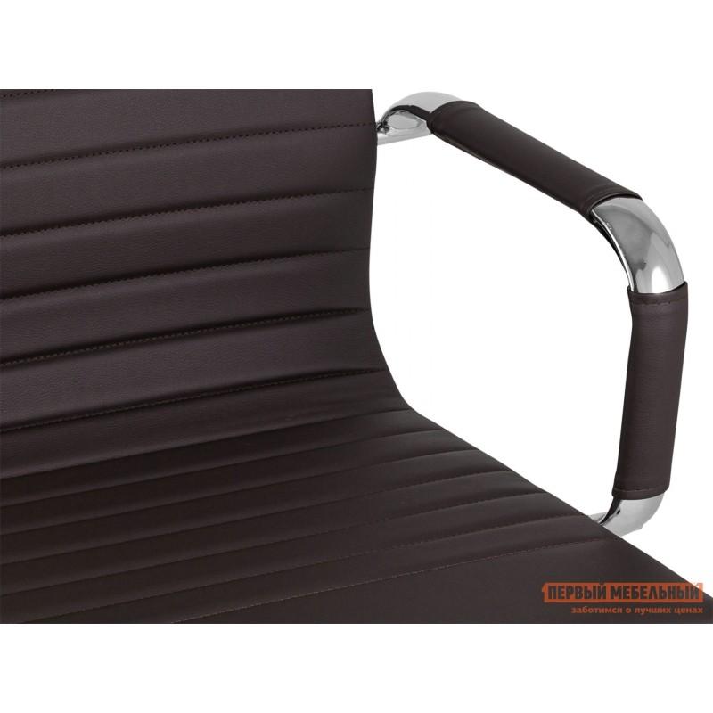 Офисное кресло  КреслоофисноеTopChairsCityS Коричневый, экокожа (фото 5)