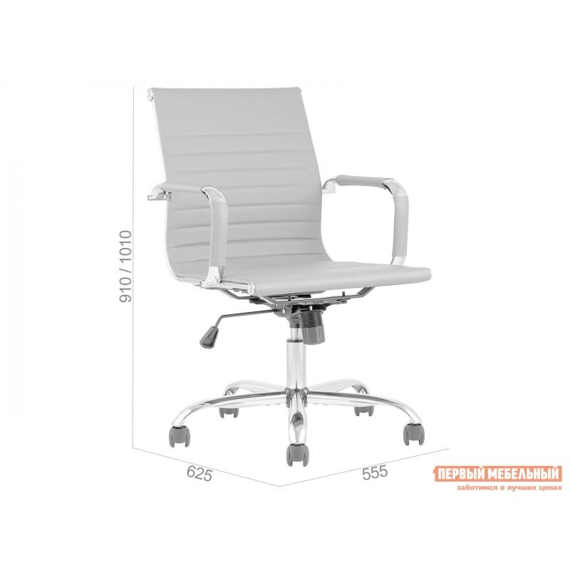 Офисное кресло  КреслоофисноеTopChairsCityS Коричневый, экокожа (фото 6)
