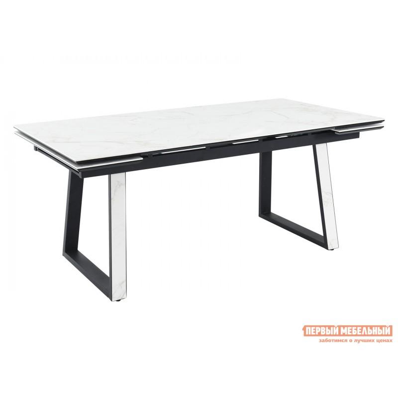 Кухонный стол  Монако Calacata vagli / Черный, металл