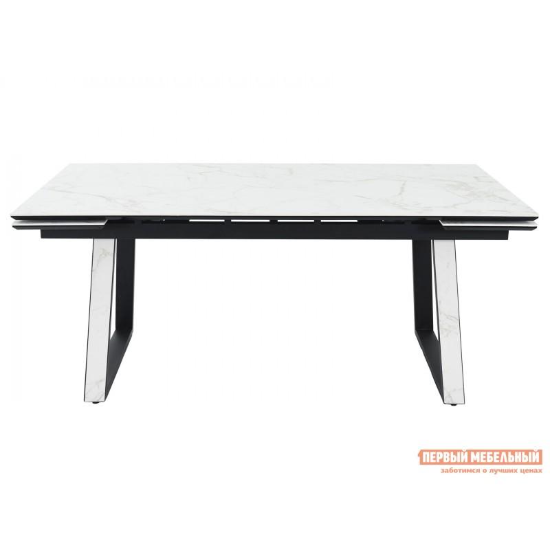 Кухонный стол  Монако Calacata vagli / Черный, металл (фото 2)