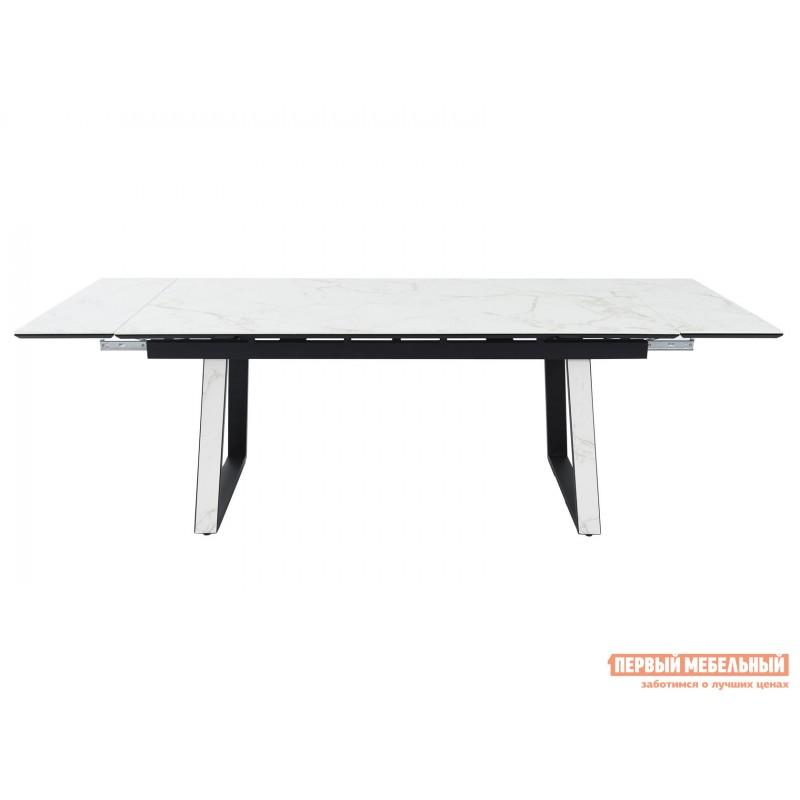 Кухонный стол  Монако Calacata vagli / Черный, металл (фото 3)
