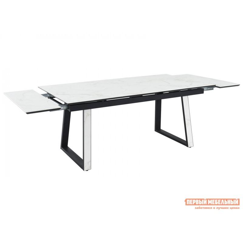 Кухонный стол  Монако Calacata vagli / Черный, металл (фото 4)