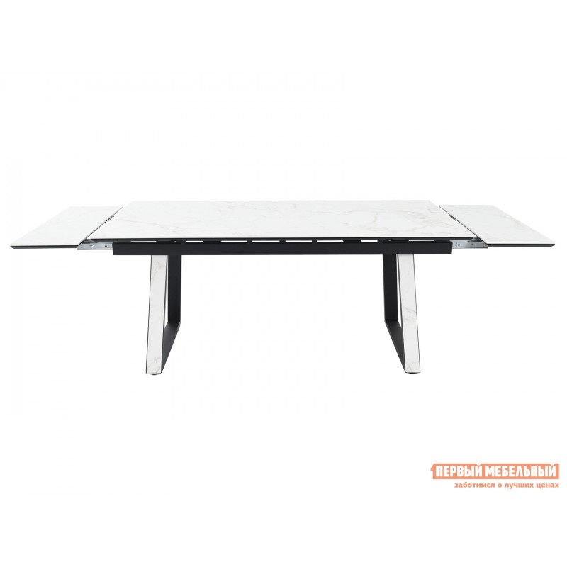 Кухонный стол  Монако Calacata vagli / Черный, металл (фото 5)