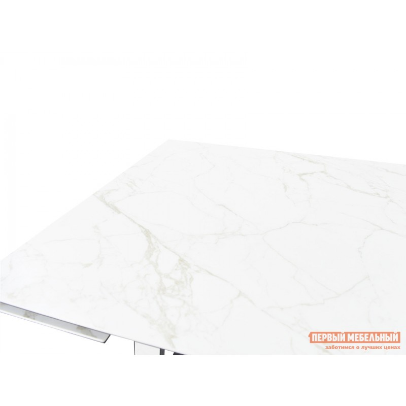 Кухонный стол  Монако Calacata vagli / Черный, металл (фото 6)