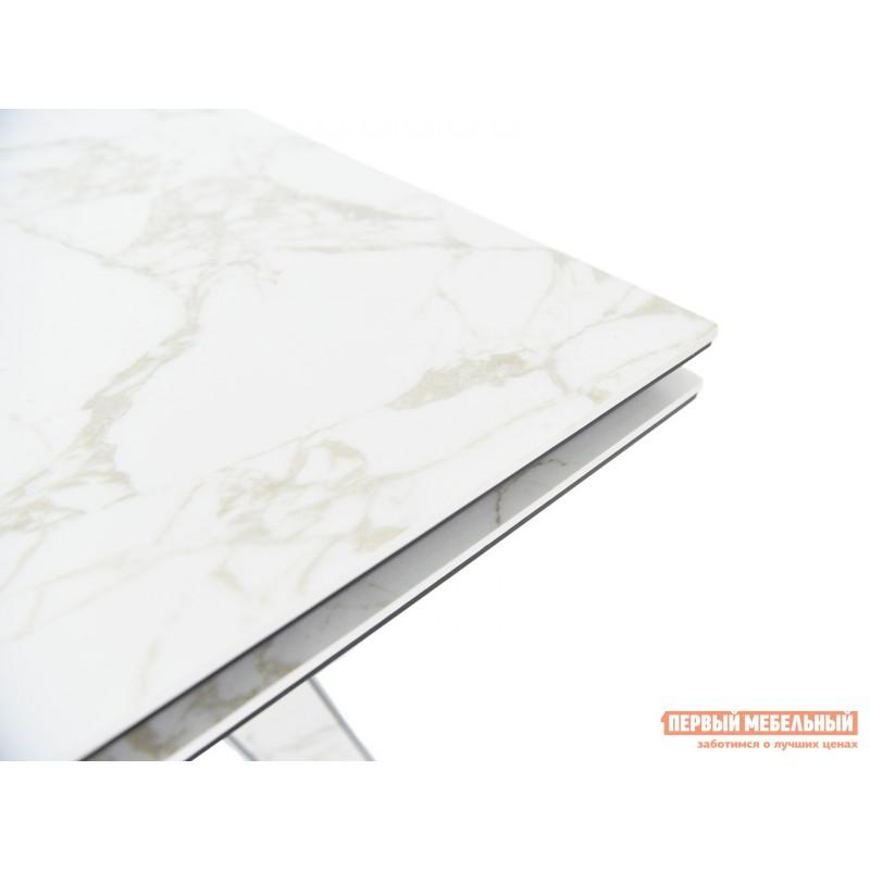 Кухонный стол  Монако Calacata vagli / Черный, металл (фото 7)