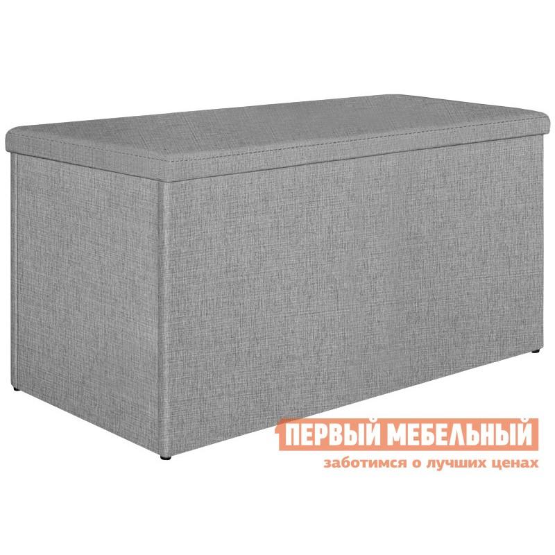 Пуфик  Пуф 400х800 Модерн Серый (ткань,1 кат)