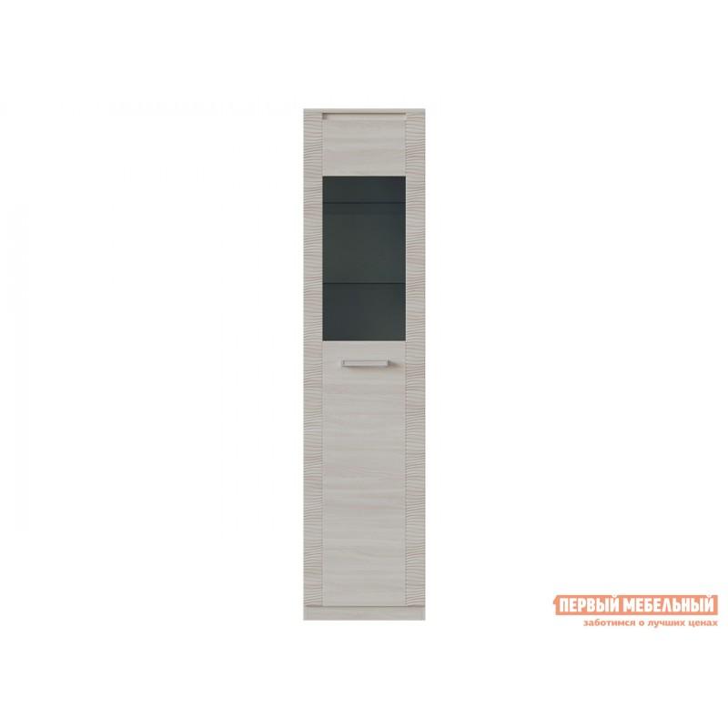 Шкаф-витрина  Элегия ШК-149 Ясень Шимо светлый (фото 2)