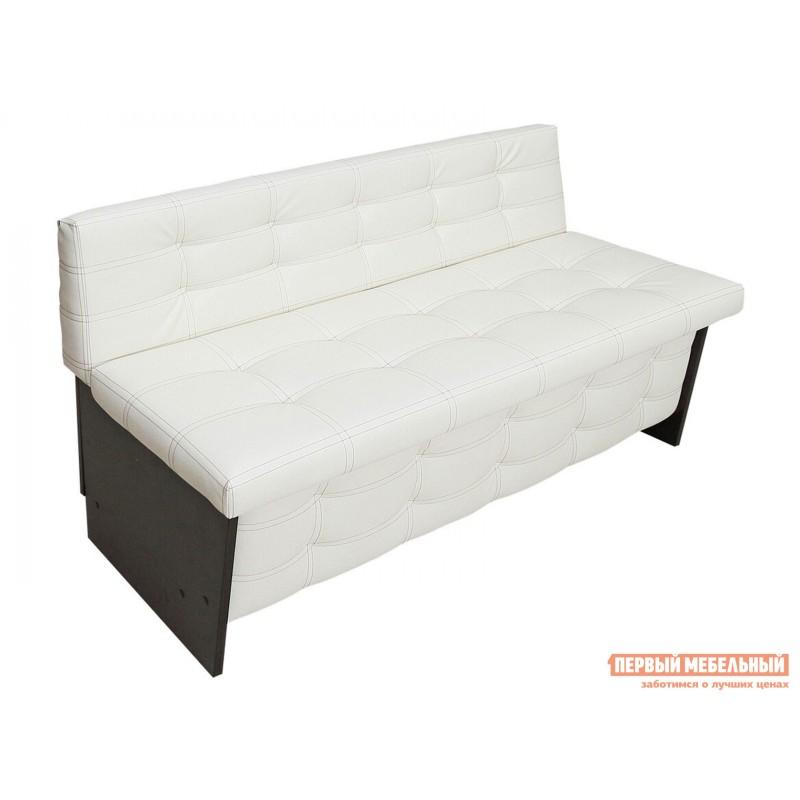 Кухонный диван  Кухонный диван Милан Венге / Крем (Экокожа), 1200 мм