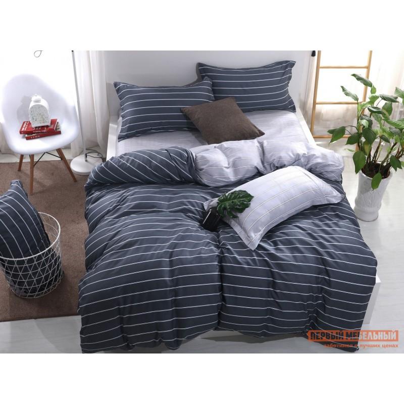 Комплект постельного белья  КПБ Сатин-С48 С48, сатин, Евро