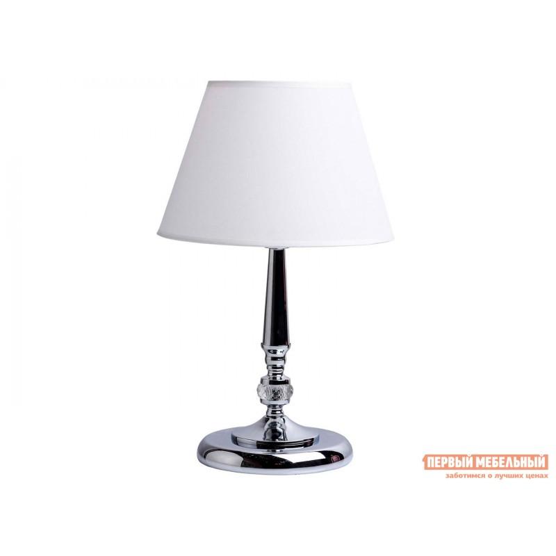 Настольная лампа  371030501, 371030601 Аврора Хром / Белый