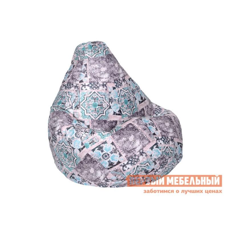 Кресло-мешок  Кресло Мешок Велюр  Сиена Мята, 2XL