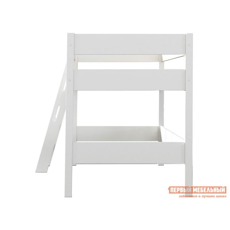 Кровать-чердак  Кровать-чердак Линда Белый, 80х190 (фото 4)