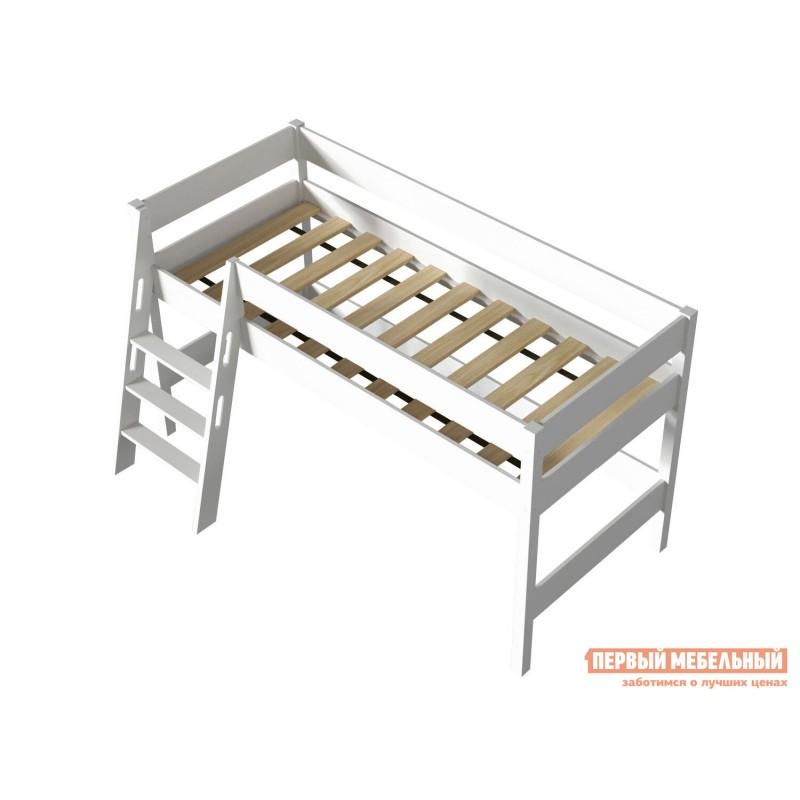 Кровать-чердак  Кровать-чердак Линда Белый, 80х190 (фото 6)