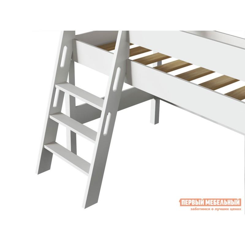 Кровать-чердак  Кровать-чердак Линда Белый, 80х190 (фото 7)