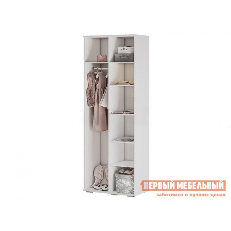 Шкаф детский  Трио шкаф для одежды ШК-09 Белый, рапунцель (фото 2)