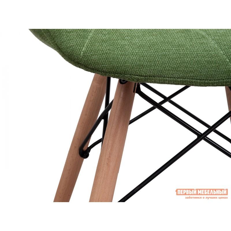 Стул  Стул RIO Зеленый, рогожка / Бук, дерево (фото 5)