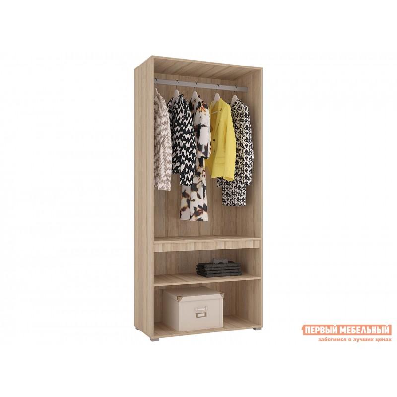 Распашной шкаф  Шкаф 2х-дверный Анталия Дуб Сонома / Графит Софт (фото 2)