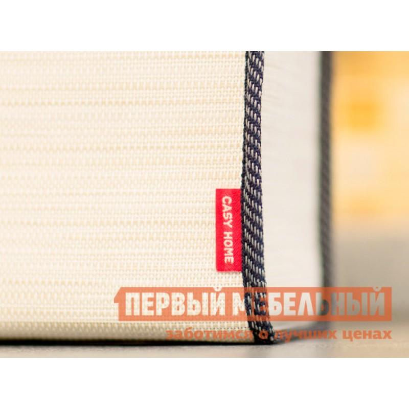 Аксессуары для сервировки и хранения  Салфетница 14х11х14см Бежевый, текстилен (фото 4)