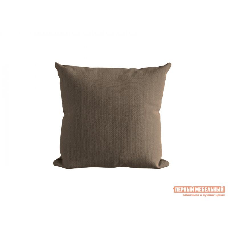 Декоративная подушка  Подушка ШН(391-6), Размер 45х45 Темно-бежевый, рогожка