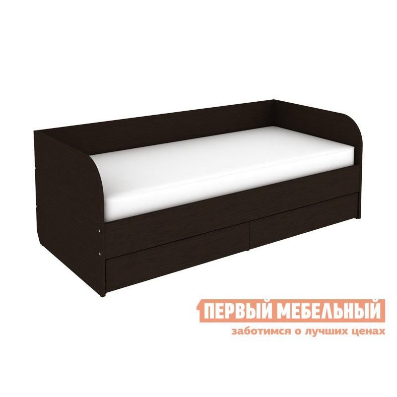 Односпальная кровать  Софа Мерлен 90х200 Венге