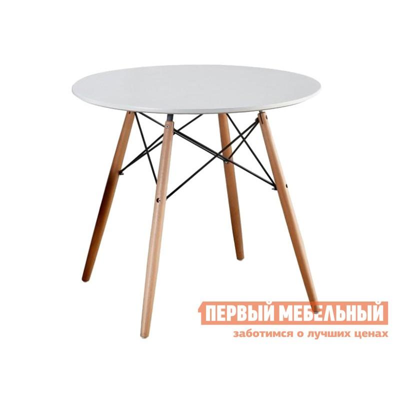 Кухонный стол  Стол LEILA, 900*750 Бук / Белый