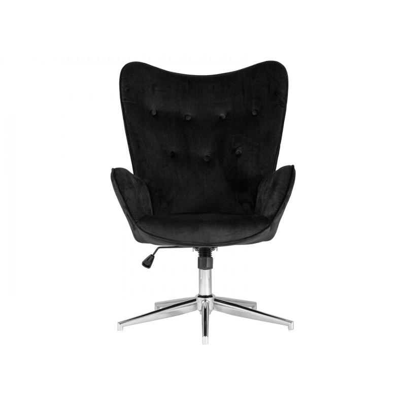Кресло руководителя  Кресло Филадельфия регулируемое FUCHS Черный, велюр (фото 2)
