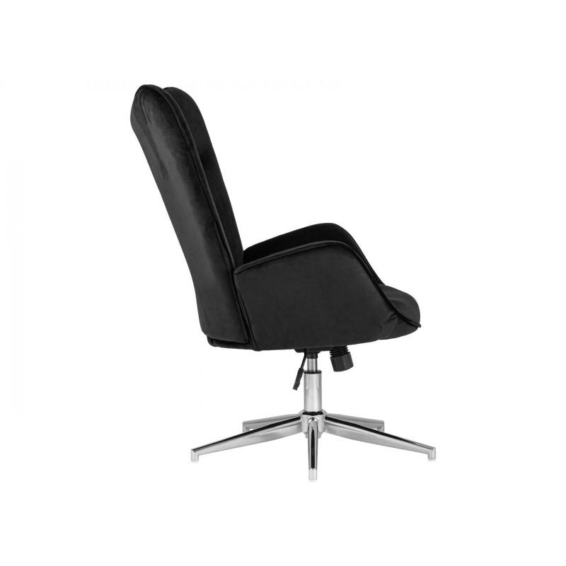 Кресло руководителя  Кресло Филадельфия регулируемое FUCHS Черный, велюр (фото 3)