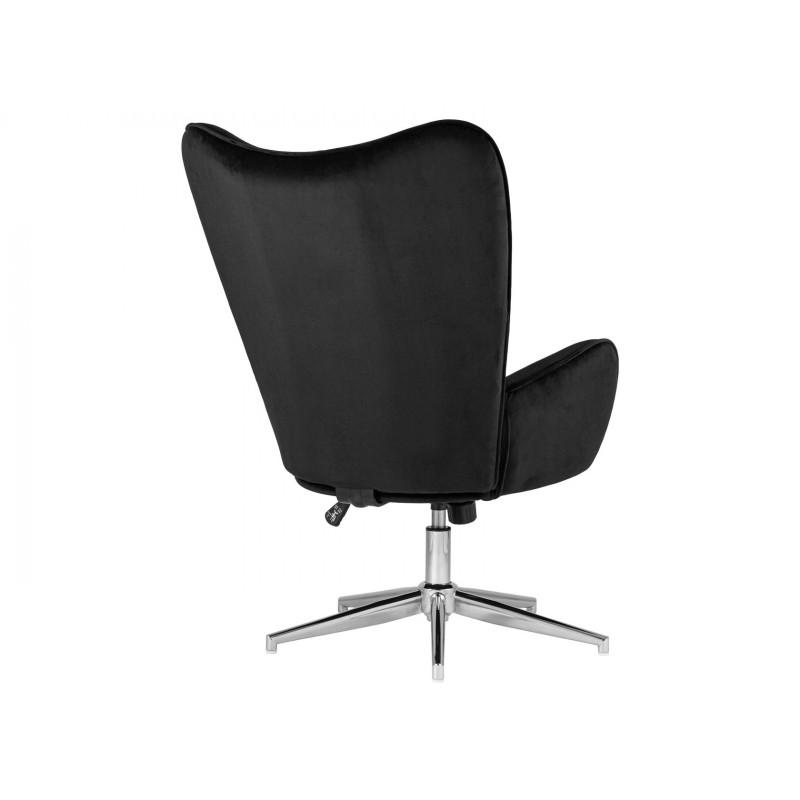 Кресло руководителя  Кресло Филадельфия регулируемое FUCHS Черный, велюр (фото 4)