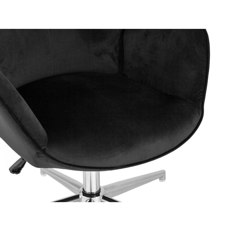 Кресло руководителя  Кресло Филадельфия регулируемое FUCHS Черный, велюр (фото 7)