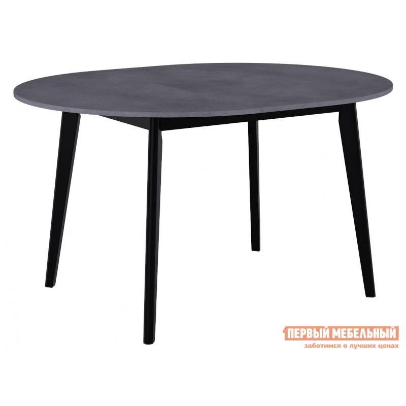 Кухонный стол  Обеденный стол Vesteros 1100 Бетон Портленд / Черный (фото 2)