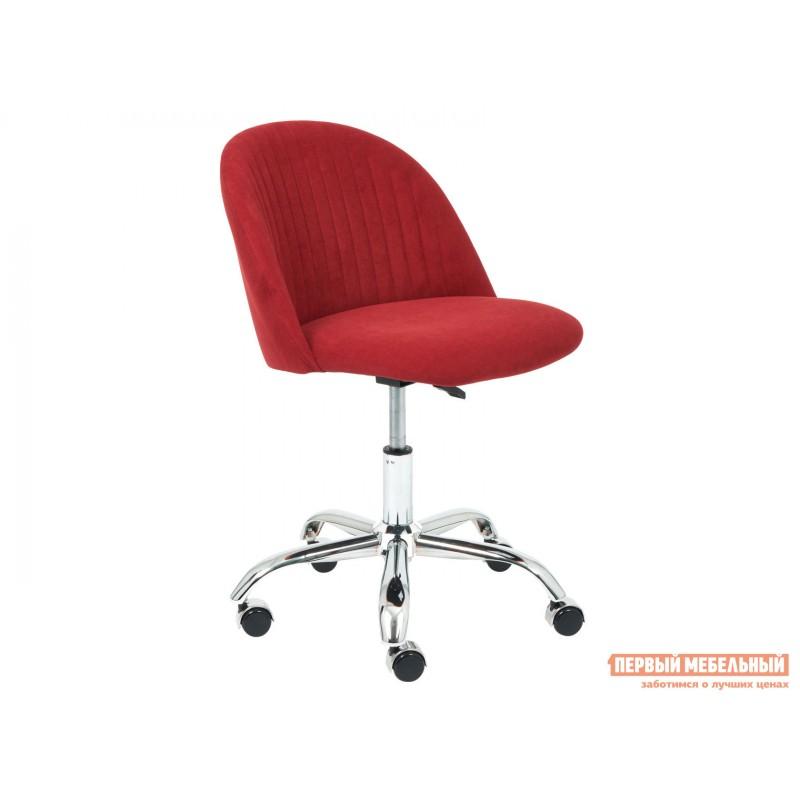 Офисное кресло  MELODY Бордовый, флок