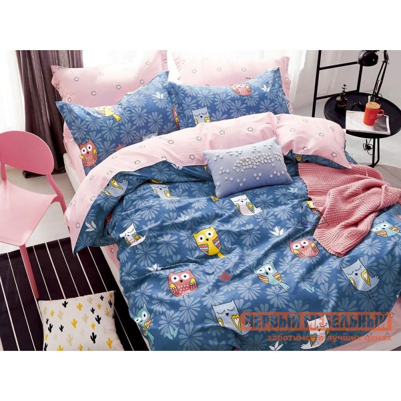 Комплект постельного белья  КПБ сатин 1,5 сп. Д43(1,5) Д43, сатин