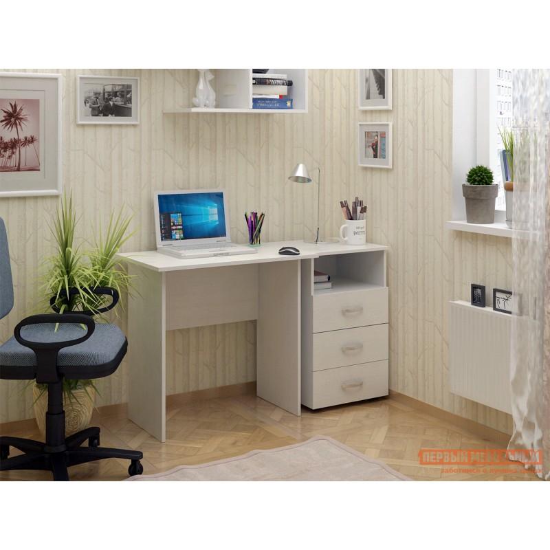 Компьютерный стол  Милан-85 Белый (фото 2)
