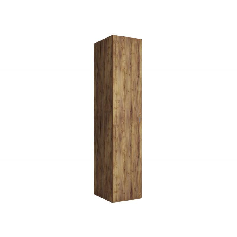 Распашной шкаф  Шкаф-пенал Вега Бавария Таксония медовая, Без зеркала