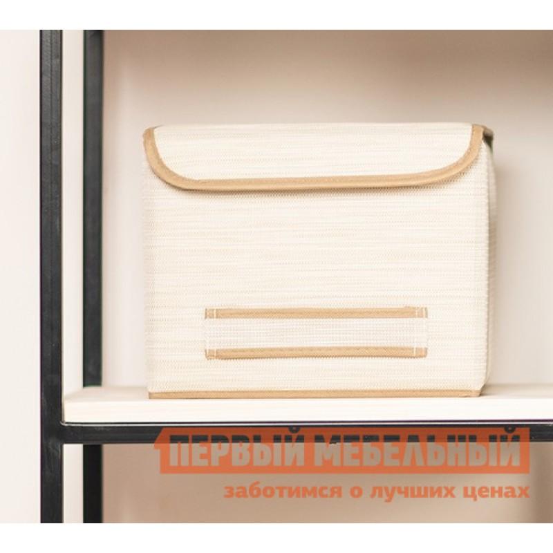 Кофр  Коробка для хранения с крышкой 30х30х24см Белый (фото 3)
