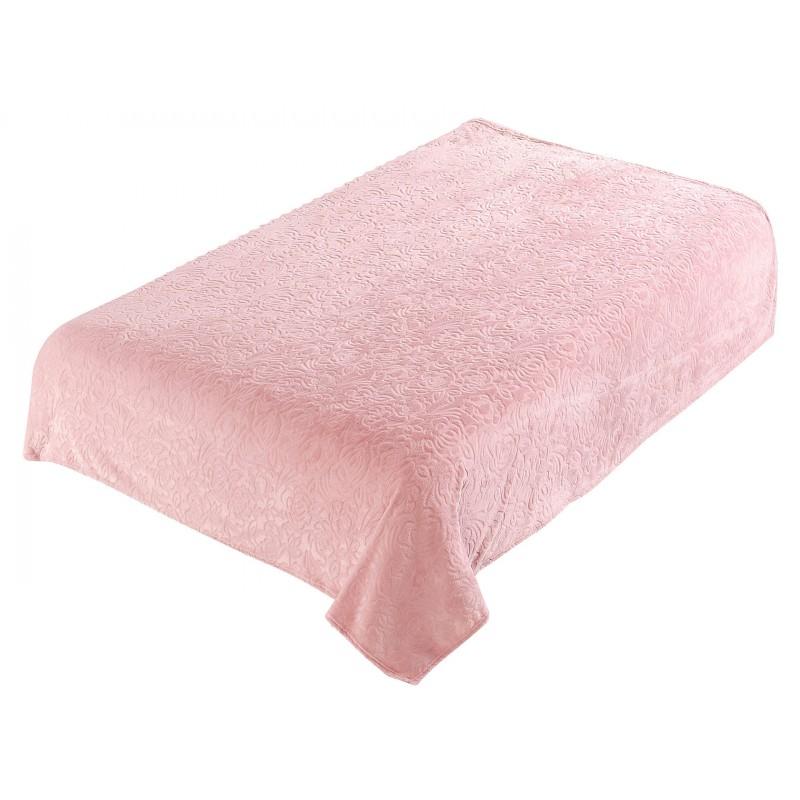 Покрывало  Плетенка 3158, розовый