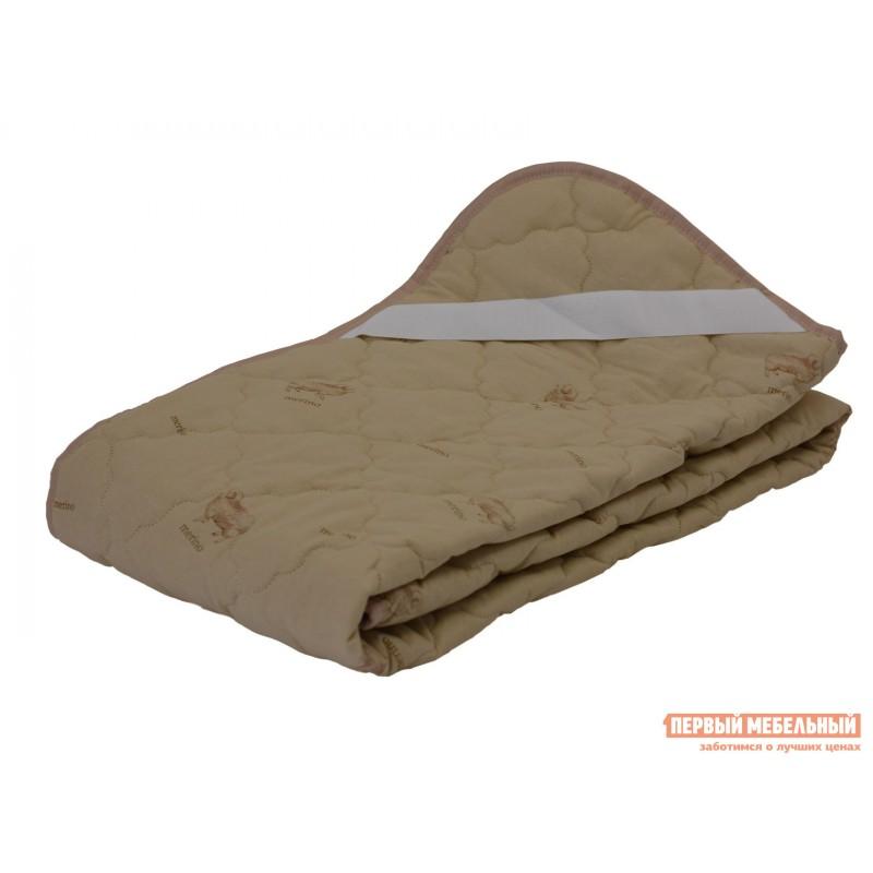 Чехол для матраса  Наматрасник овечья шерсть хлопок Бежевый с рисунком, 2000 Х 2000 мм